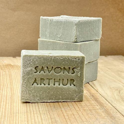 100gr de Savon & Shampoing bio argile verte – peaux grasses