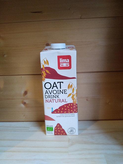 Boisson avoine naturel Bio / 1 litre