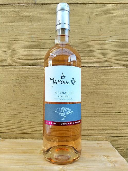 Vin rosé grenache bio / 75cl