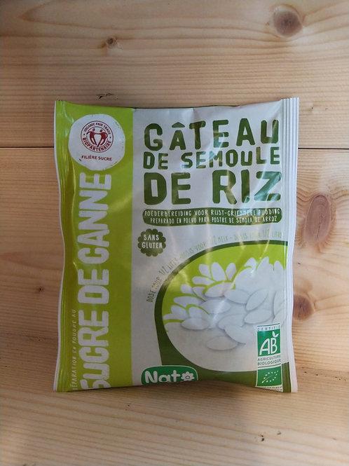 Préparation en poudre pour gâteau de semoule de riz BIO / 70gr