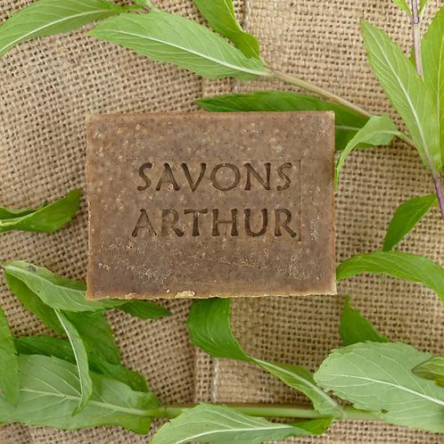 100 gr de Savon bio à la menthe poivrée – peaux délicates