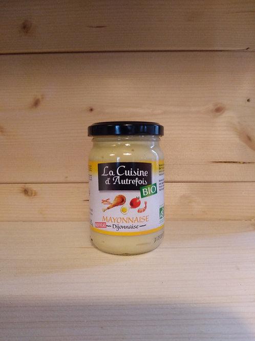 Mayonnaise dijonnaise Bio / 185 gr