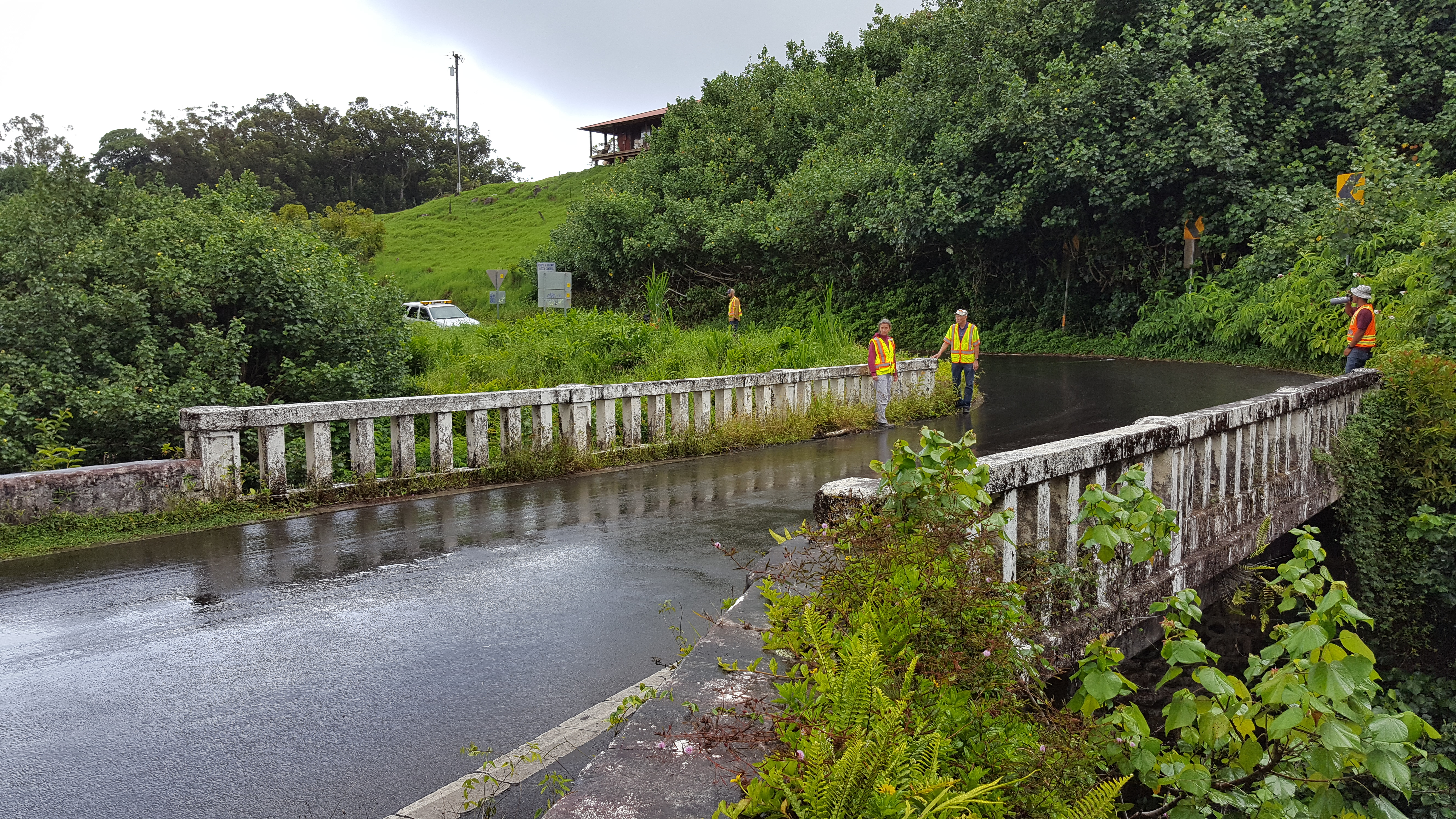 BRIDGE #2: KAILUA STREAM BRIDGE