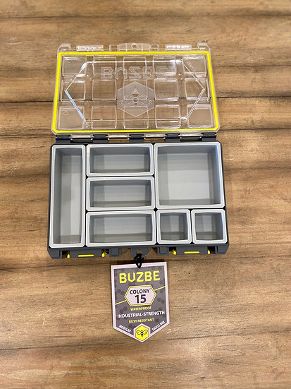 BUZBE Colony 15 Tackle Box
