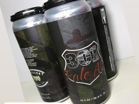301 Pale Ale Third Edition Label