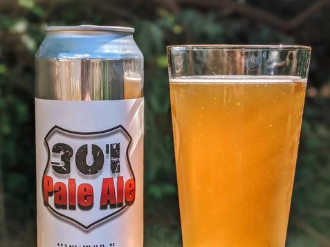 301 Pale Ale - 2nd edition labe