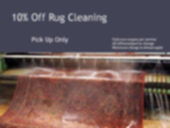10% Off Rug Cleaning