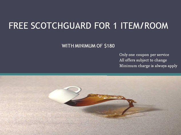 Free Scotchguard