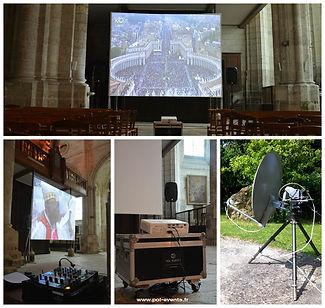 vidéoprojection blois pol'events retransmission écran vidéoprojecteur basilique vidéo photo sonorisation éclairage pol'events polevents