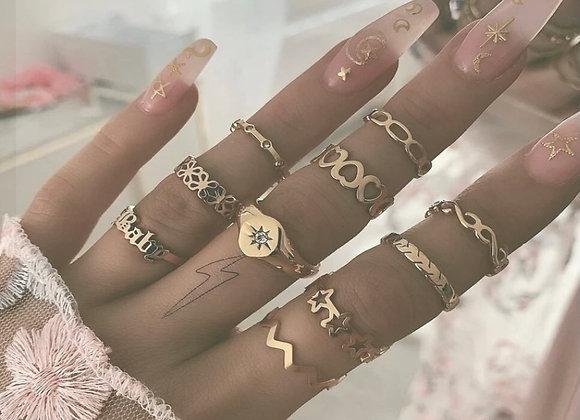 Baby Girl Ring Set