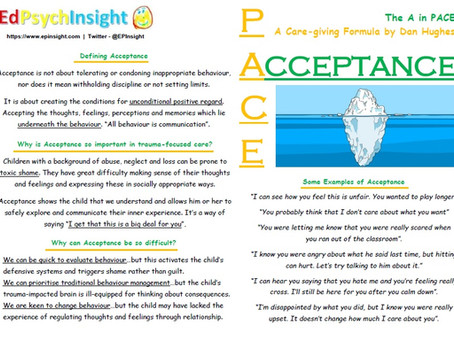 The A in PACE: Acceptance