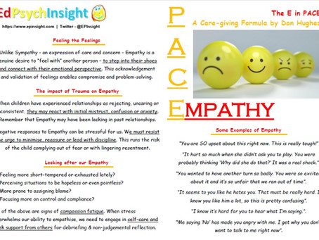 The E in PACE: Empathy
