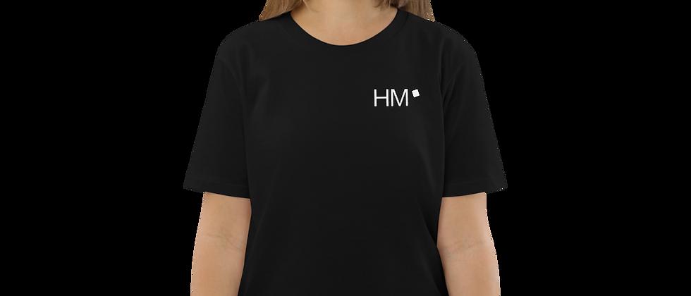 Bio - Shirt mit weißem HM-Logo (gedruckt)