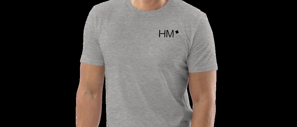 Bio - Shirt mit schwarzen HM-Logo (gedruckt)