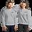 Thumbnail: Pullover mit schwarzem HM-Logo (gestickt)