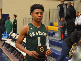 All Tourney Honors For Nick Edwards As Grayson Closes Out Holiday Classic With 68-48 Win Over Miller