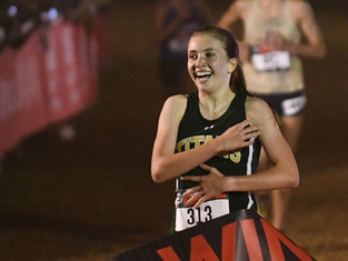 Blessed Trinity's Hannah Miniutti Named Georgia's Cross Country Player of the Year