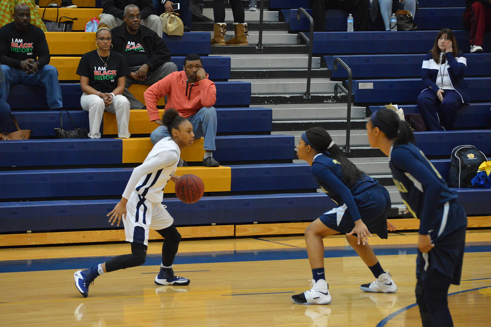 Eagles Landing's #21 Ashley Foster (23 pts)