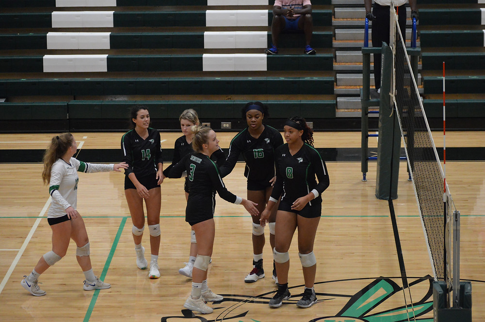 Claire Lewis (#3) and Ngozi Iloh (#15) two Chiefs' players named to All-American team