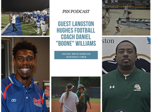 PSN Podcast Episode 49 Guest Langston Hughes Football Coach Daniel Boone