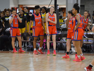 Elevate Elite 2021 Close Out ATL Peach Splash With 66-49 Win Over Della Lamb Running Angels