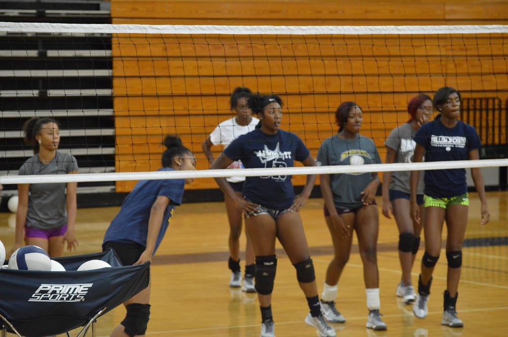 12-0 Redan High School Volleyball Team