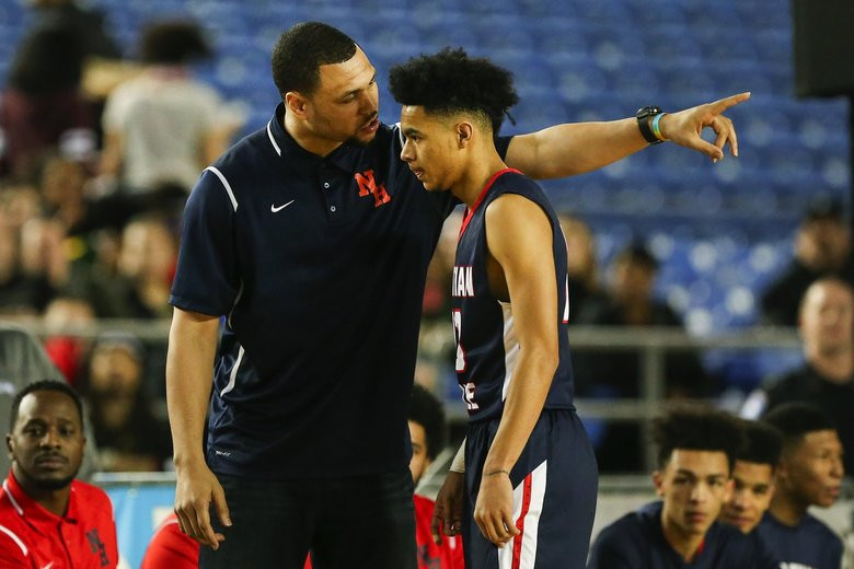Brandon Roy As Nathan Hale Head Coach - Photo Credit: Johnny Andrews