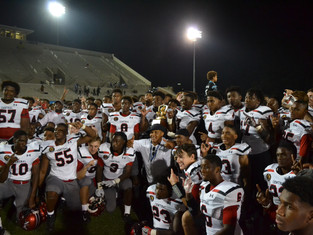 Central Devils Open Season With 42-18 Win Over Mays Raiders In Inaugural Cam Newton Classic