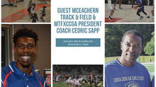 PSN Podcast Episode 55 Guest McEachern Track And Field Coach Cedric Sapp