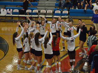 Nation's No. 2 Team, Walton Advances To GHSA 7A Volleyball Semi-Finals With 3-0 Win Over South F