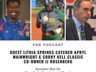 PSN Podcast Episode 43 Guest Apryl Wainwright And IJ Rosenberg