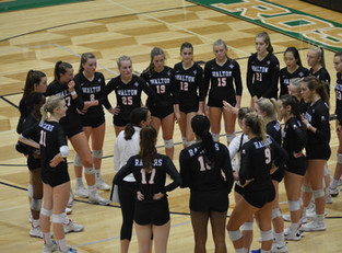 Raiders Survive Hornets Nest, Walton Defeats Roswell 3-1, Advances To GHSA Volleyball 7A Final Four