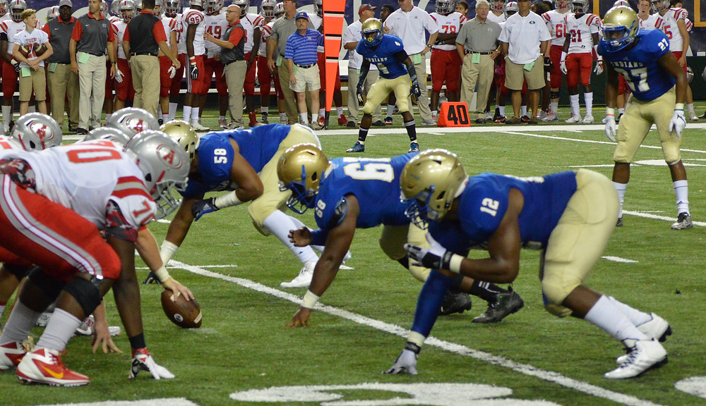 McEachern Defense Lines Up Against Archer