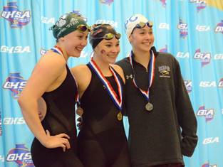 St. Pius' Ian Grum Sets All-American Time In 500 Freestyle At GHSA State Championships