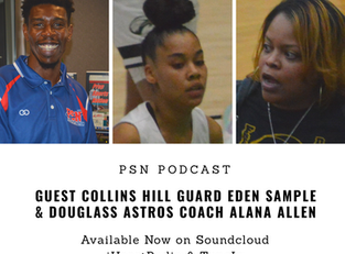 PSN Podcast Episode 26 Guest Collins Hill Eden Sample And Douglass Astros Coach Alana Allen