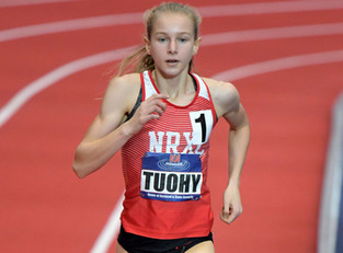 New York Sophomore Katelyn Tuohy Breaks State Meet Record In 1500M