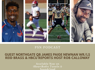 PSN Podcast Episode 42 Guest Newnan Cougars' Reid Brass, Northgate Vikings' James Paige And