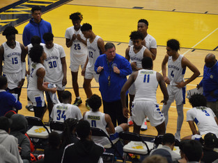 Indians Hold Off Justices As McEachern Edges John Marshall 70-69
