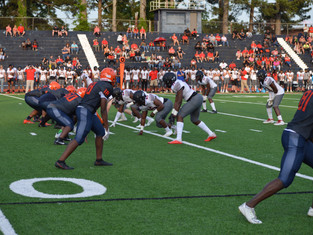 Alexander Impressive In The Trenches In Spring Game Win Over South Cobb