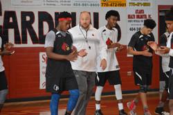 Jonesbore Cardinals w/ Coach Maehlman