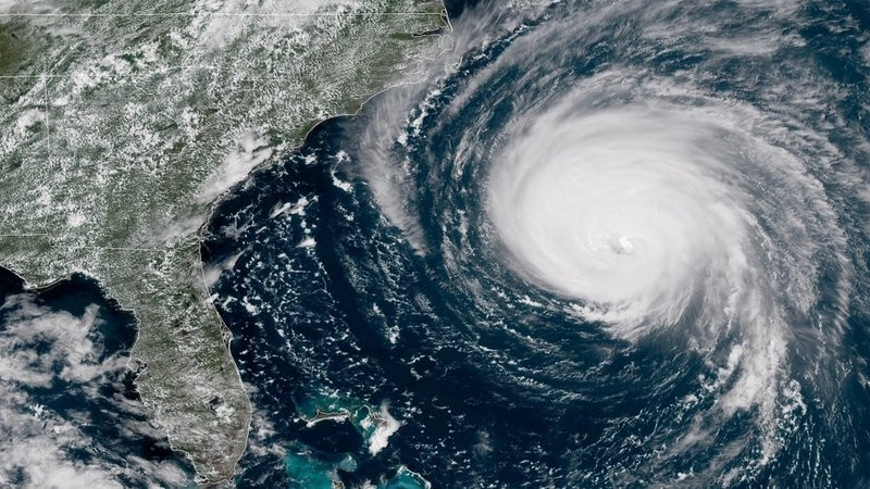 Hurricane Florence - Photo Credit: NOAA/STAR