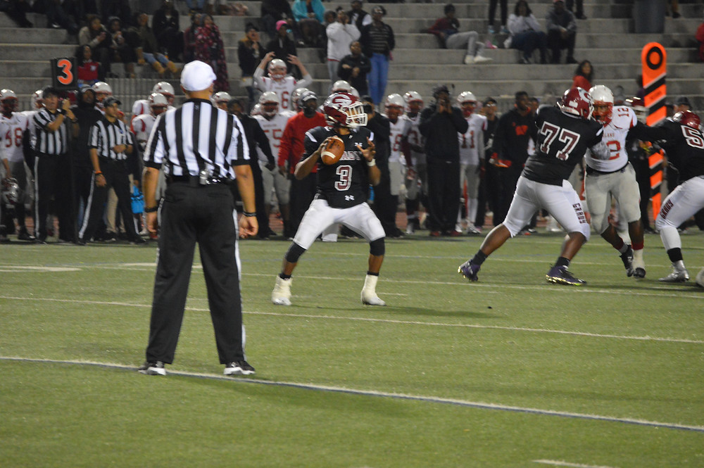 Grady's #3 Newton leads Grady offense