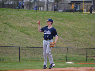 9 K's Through Five Innings For Sophomore Carter Davies In St. Fancis 7-0 Win Over Whitefield