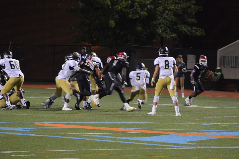 Grady defense smothered the Bulldogs all night.