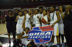 Mays Lady Raiders GHSA 6A Champs