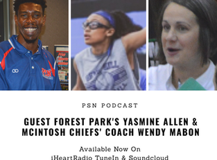 PSN Podcast Episode 29 Guest Yasmine Allen And 5X State Champ Coach Wendy Mabon