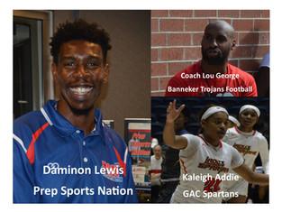 PSN Podcast Ep. 12 Guest Banneker Trojans Football Head Coach Lou George And GAC Spartans Kaleigh Ad