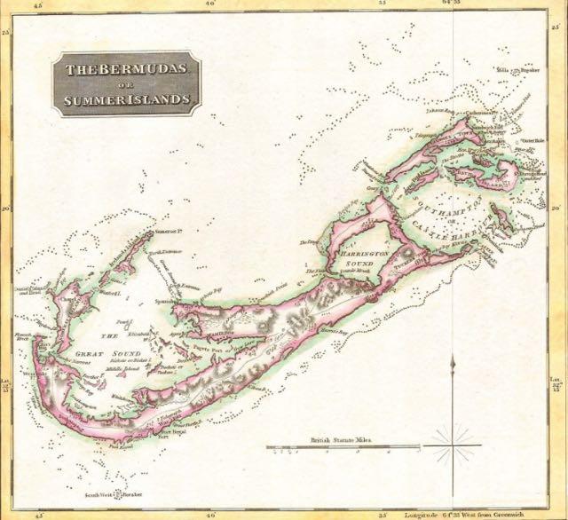 Bermuda map.