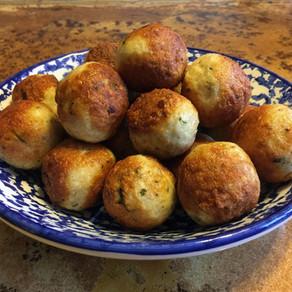 Kipgehakt/ quinoa ballen