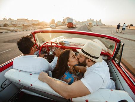 Sarah & Karan Cuba Destination Engagement